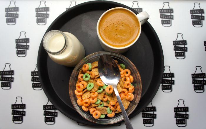 Cereal Killer Cafe | TOO BIG A BITE?
